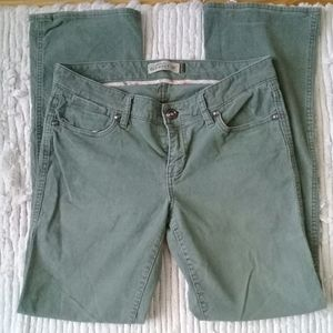 Old Navy stretch low rise boot cut corduroy sz 6R